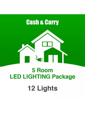 5 Room LED Lighting Package
