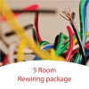 5 Room Rewiring Package