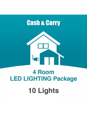 4 Room LED Lighting Package